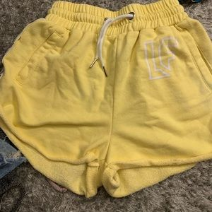 Yellow of CRAZY COMFY shorts